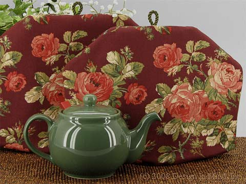 Tea Cozy - Wine and Roses