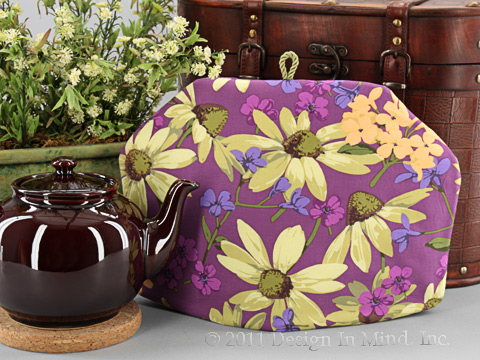 Tea Cozy - Coneflower Plum