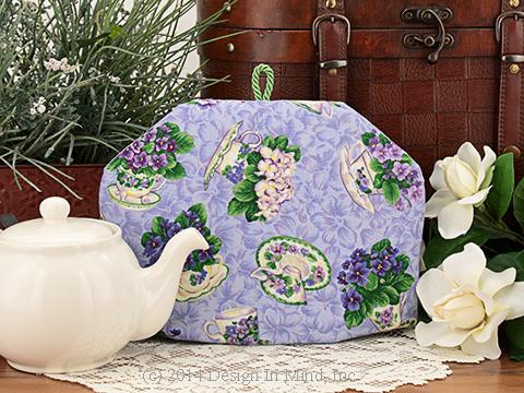 Tea Cozy - Cuppa Violets