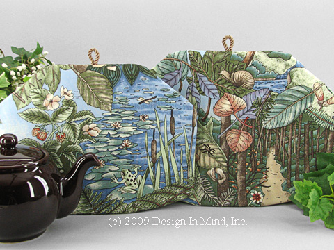 Tea Cozy - Olympic III: Flora and Fauna