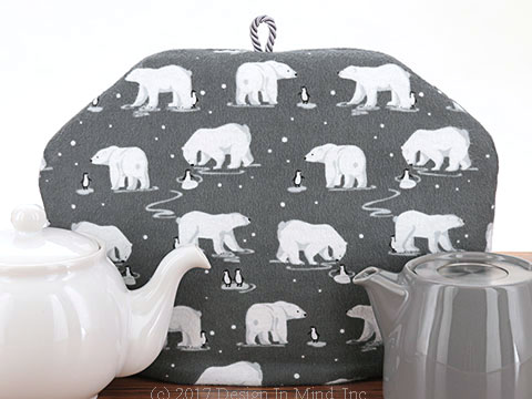 Tea Cozy - White Bear