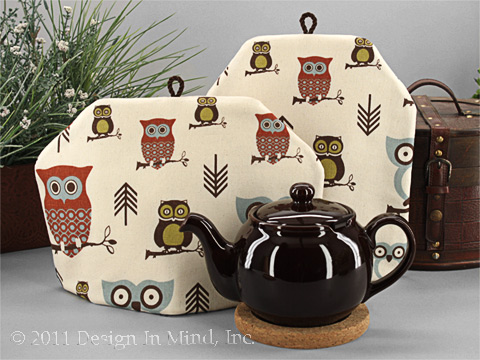 Tea Cozy - Up Owl Night