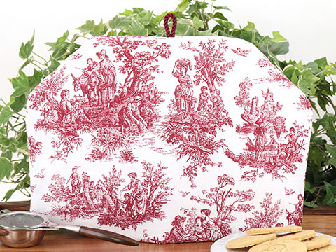 Tea Cozy - Toile Red