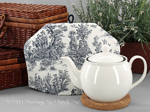 Tea Cozy - Toile Indigo