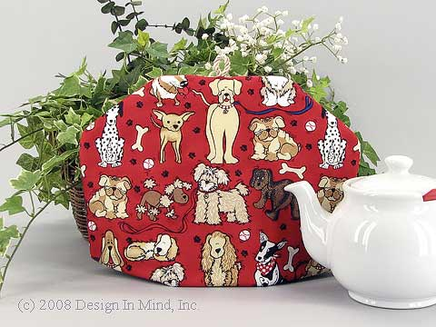 Tea Cozy - Caffeinated Canines