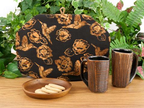 Tea Cozy - Hummingbird Batik