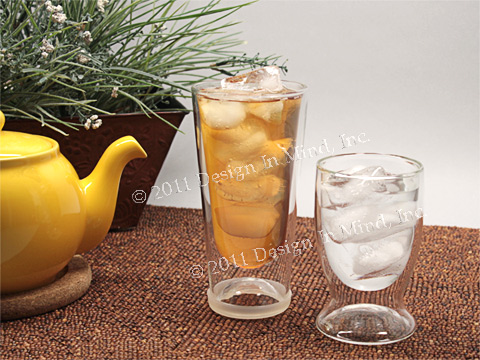 Glass Double Wall Tumblers