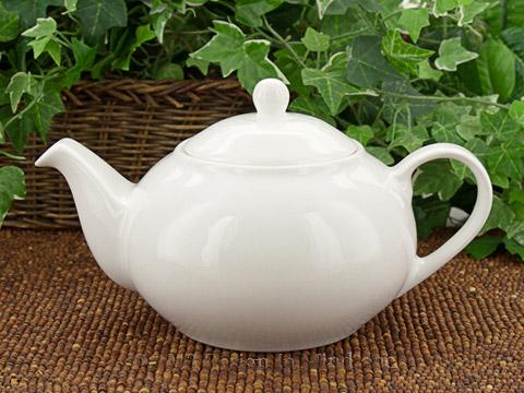 MW White Basics Teapot