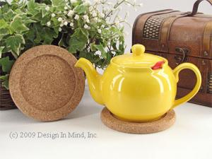 Tidies and trivets protect your table from tea and heat.