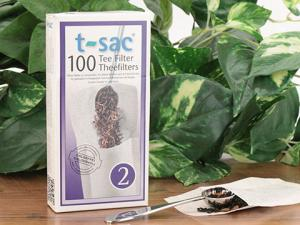 T-sac tea filters let you make your own teabags with great loose teas.