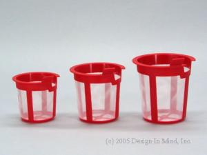 Replacement infusers for Chatsford teapots and Kavalier glass teapots.